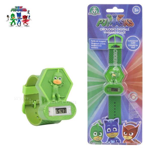 PJ Masks - Детски електронен часовник Пиджи Маски 3D 240003