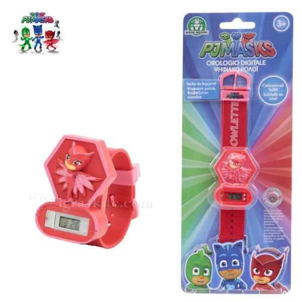 PJ Masks - Детски електронен часовник Пиджи Маски 3D 240001