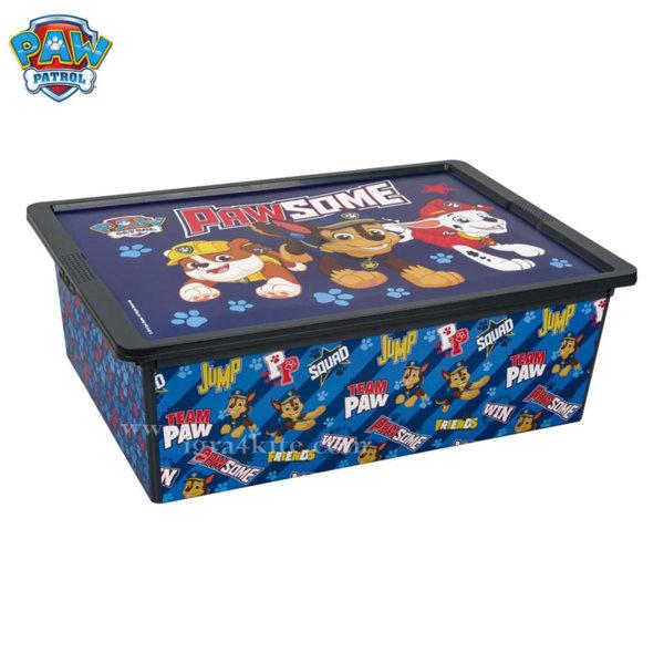 Paw Patrol - Кутия за съхранение Пес Патрул 25л 31784