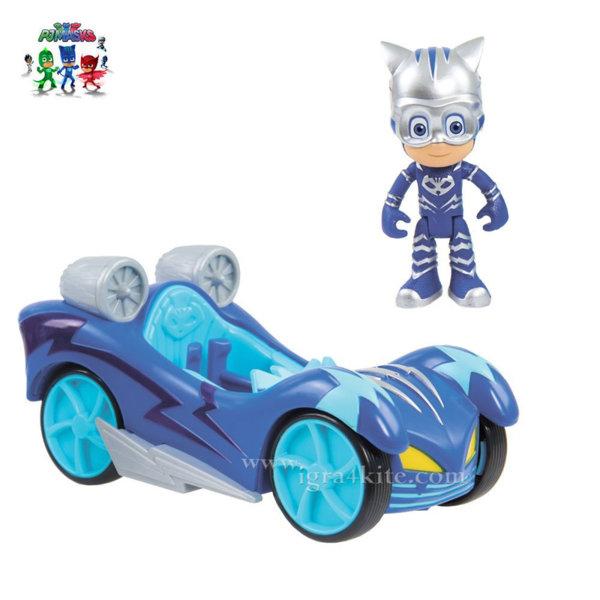 PJ Masks - Турбо превозното средство на Cat Boy с фигура 44000