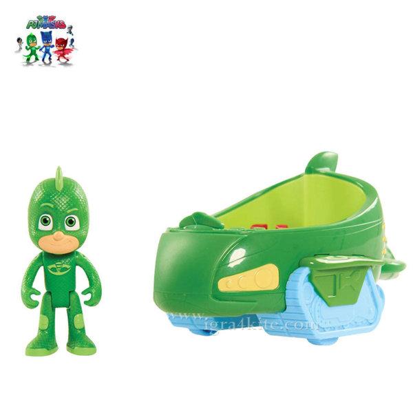 PJ Masks - Превозно средство с фигура Gekko 44000