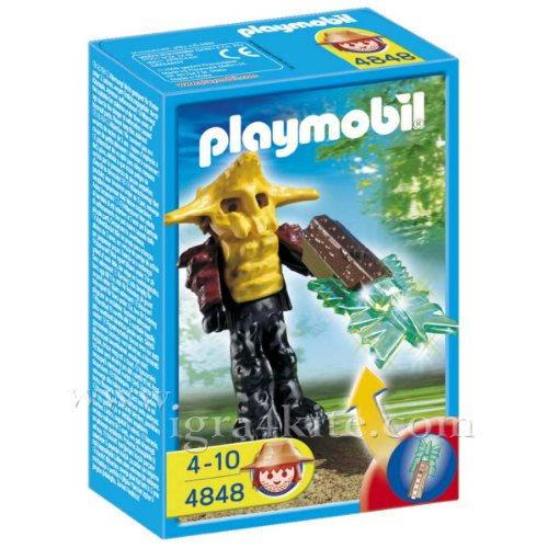Playmobil - Пазител на храма със светещо оръжие 4848