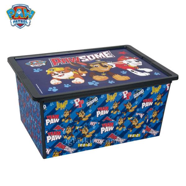 Paw Patrol - Кутия за съхранение Пес Патрул 50л 31248
