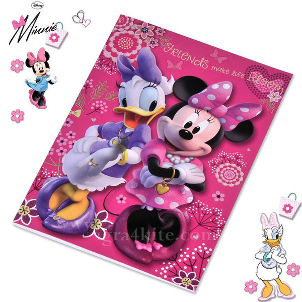 Disney Minnie Mouse - Тетрадка Мини Маус B5 40 листа 94429