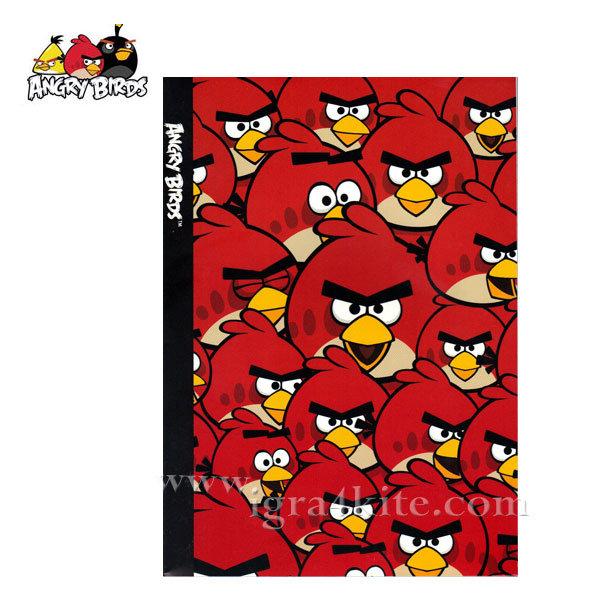 Angry Birds - Тетрадка B5 40 листа Енгри Бърдс