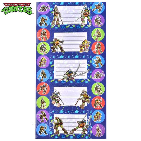 Костенурките Нинджа - Етикети Turtles Ninja 151201