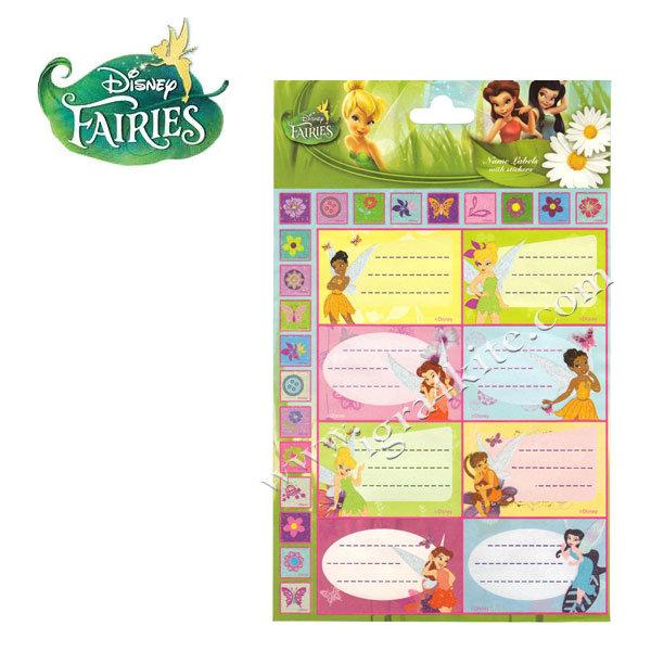 Disney Fairies - Етикети Феите