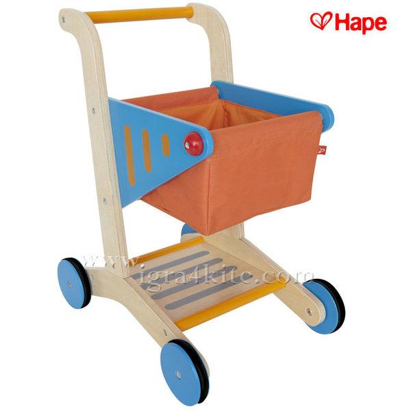Hape - Детска количка за пазаруване H3123
