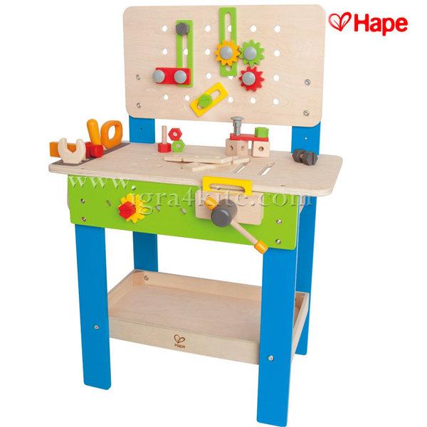 Hape - Детска дървена работилница E3000A