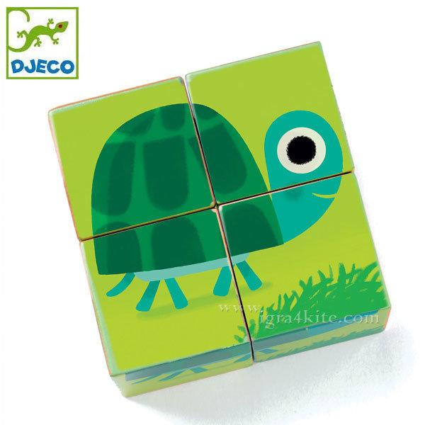 Djeco - Занимателни кубчета животни 01901