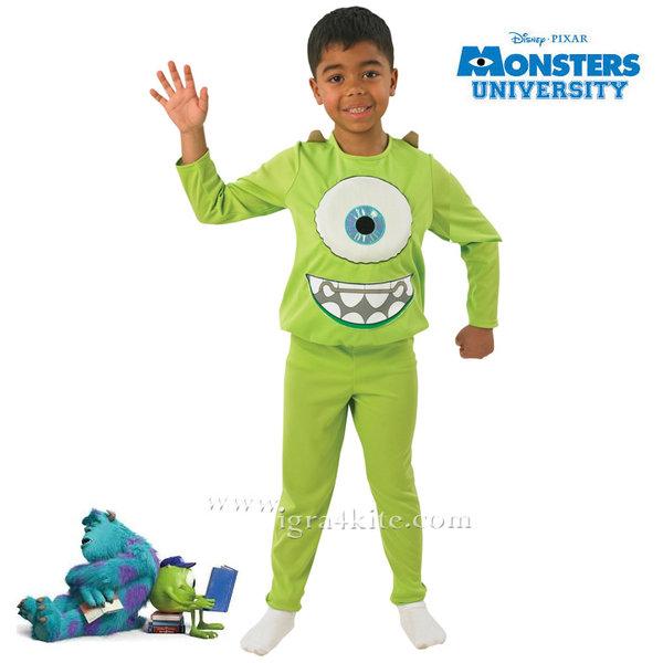 Disney - Детски карнавален костюм Disney Университет за Таласъми - Майк 880075