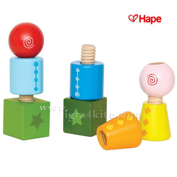 Hape - Дървен конструктор H0416