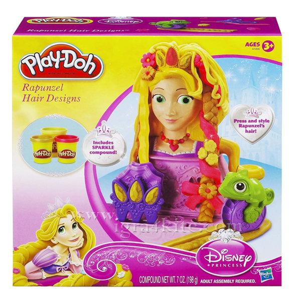 Playdoh - Комплект Дисни Принцеси Рапунцел a1056
