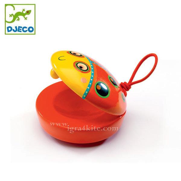 Djeco - Детски дървени кастанети Animambo 06007