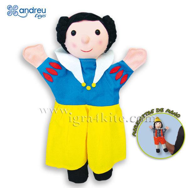 Andreu Toys - Кукла за куклен театър Снежанка 16373