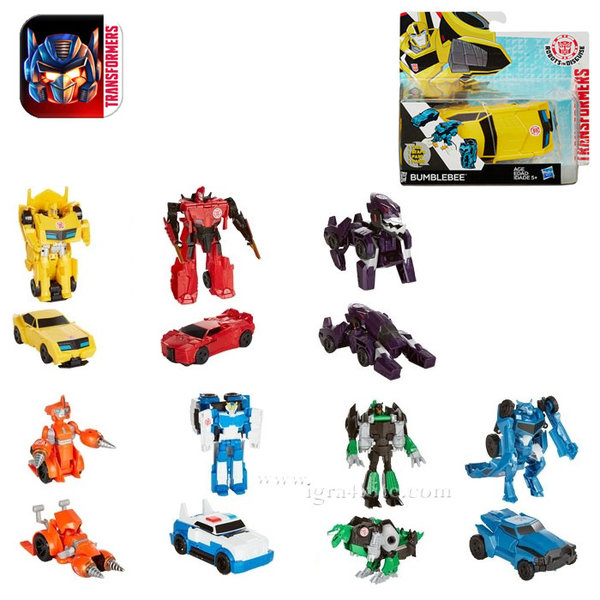 Transformers Robots in Disguise - 1-Step Трансформърс B0068