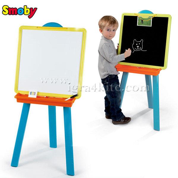 Smoby - Двустранна дъска за рисуване 28050