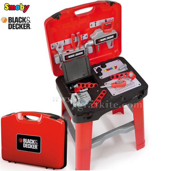 Smoby - Работна маса в куфарче Black&Decker 500240