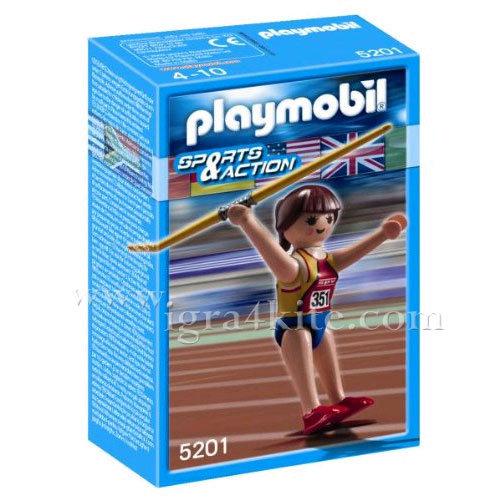 Playmobil - Състезателка по хвърляне на копие 5201