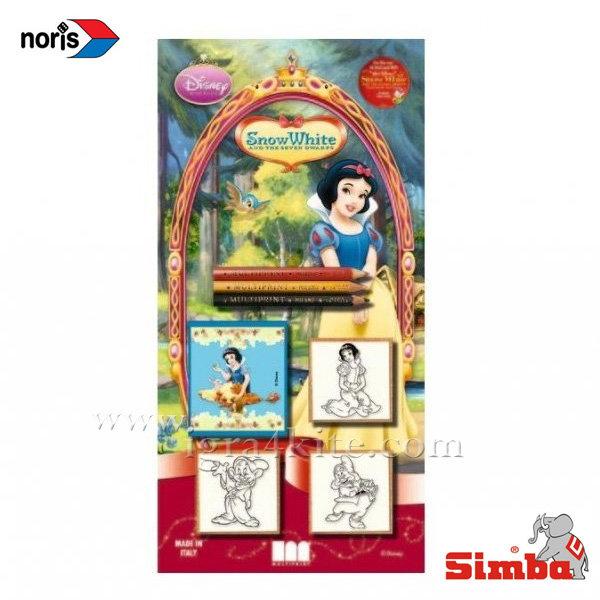Noris - Дървени печати Disney Снежанка 13351