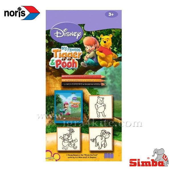 Noris - Дървени печати Disney Мечо Пух 13839