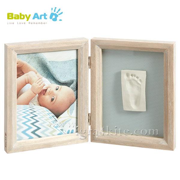 Baby Art - Двойна рамка за снимка и отпечатък Classic 0021