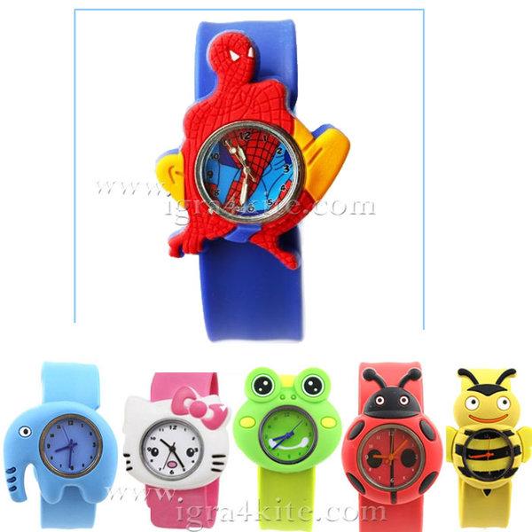 Animal Watch - Силиконови часовници Spiderman Анимал Уоч