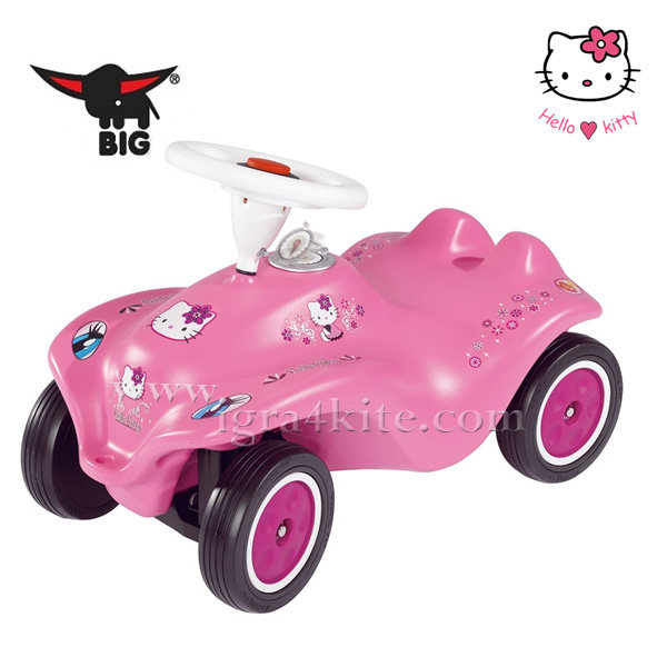 Big - Кола за бутане с крачета Hello Kitty 56190