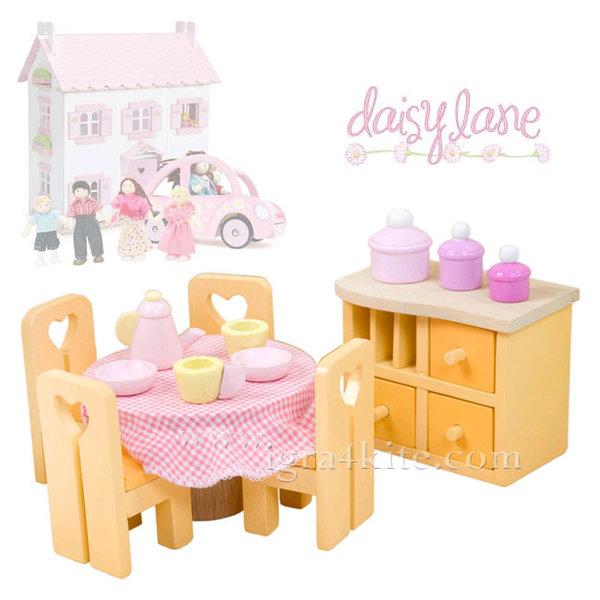 Le Toy Van - Обзавеждане за куклена къща Sugar Plam дневна ME049