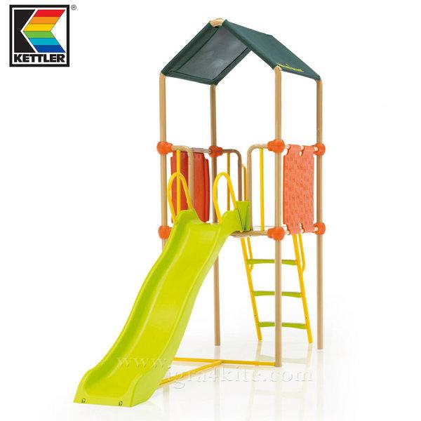 Kettler - Детски център за игра Кула с пързалка 0S01013
