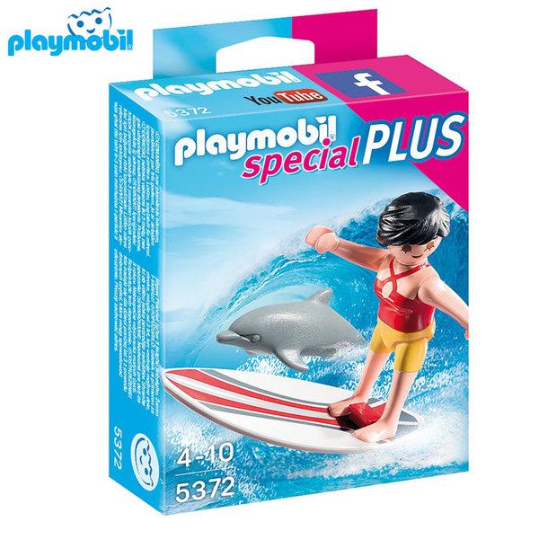 Playmobil - Сърфист със сърф 5372