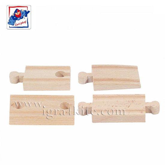 Woody - Дървени релси свързващи 90563