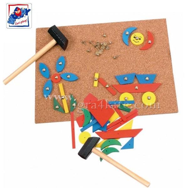 Woody - Игра Дъска с чукче 90707