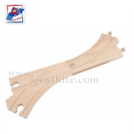 Woody - Дървени релси разклонение К 90565