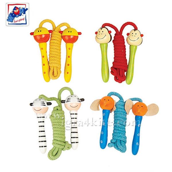 Woody - Въже за скачане Животни 90770