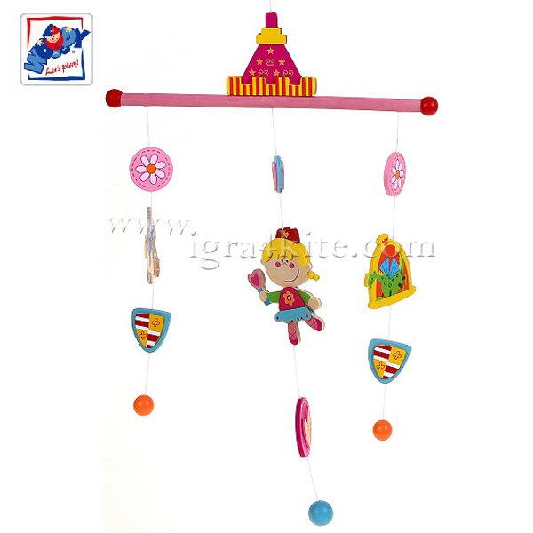 Woody - Дървена висяща играчка Принцеси 90979