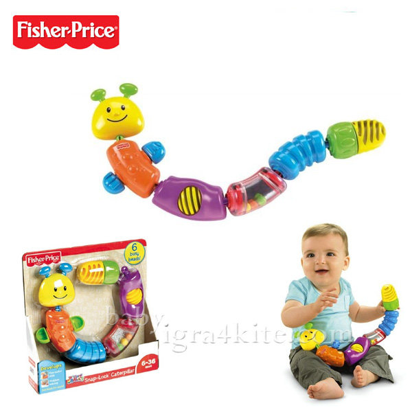 Fisher Price - Детска играчка Гъсеница W9834