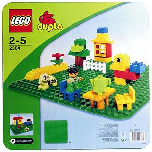 Lego 2304 DUPLO®  - Основна плочка - трева