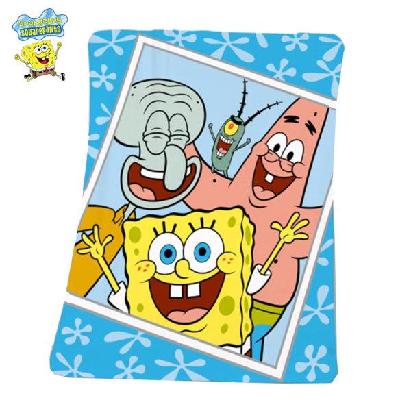 Herding - Детско одеало Sponge Bob