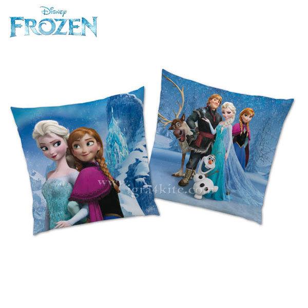 Disney Frozen - Детска декоративна възглавница Замръзналото кралство