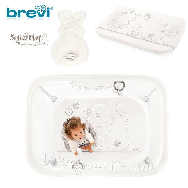 Brevi -Кошара за игра SOFT AND PLAY BIANCONIGLIO 580501
