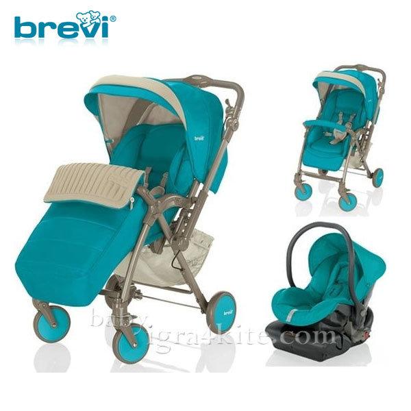 Brevi -Комбинирана количка VERSO Turcshese 713260