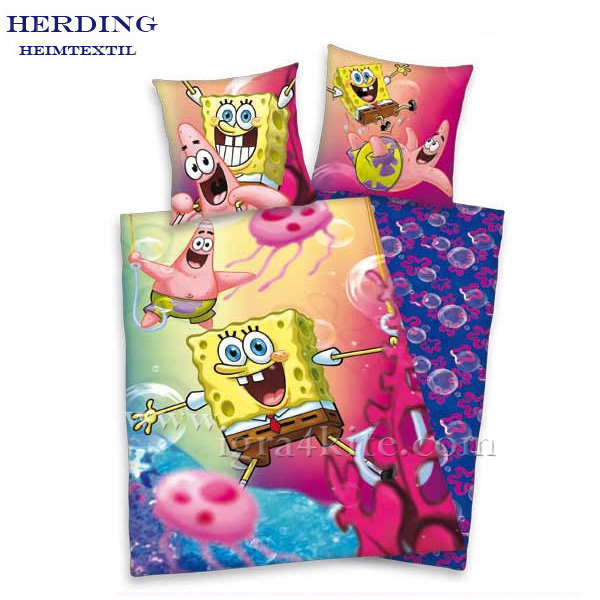 Herding -  Детски спален комплект Спондж Боб 2 части