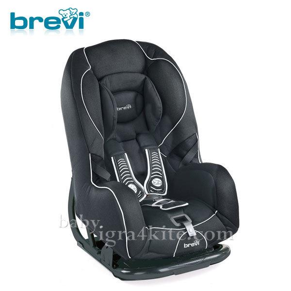 Brevi - Стол за кола GRAND PRIX black 0-18кг