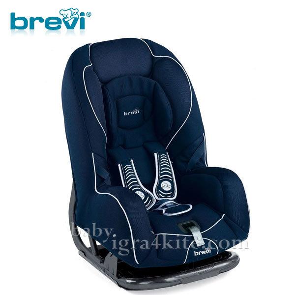 Brevi - Стол за кола GRAND PRIX blue 0-18кг