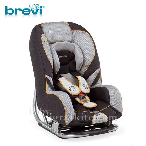 Brevi - Стол за кола GRAND PRIX grey 0-18кг