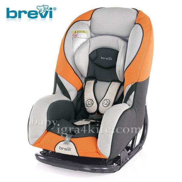 Brevi - Стол за кола GRAND PRIX orange 0-18кг