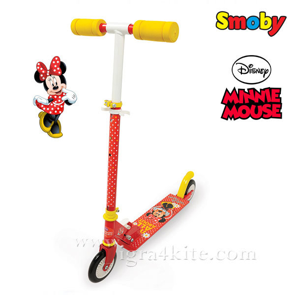 Smoby - Тротинетка Disney Minnie Mouse 450172