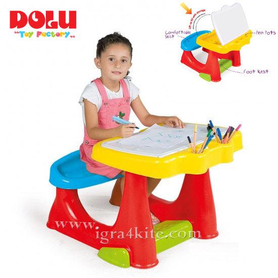 Dolu - Детски чин с пейка 7066