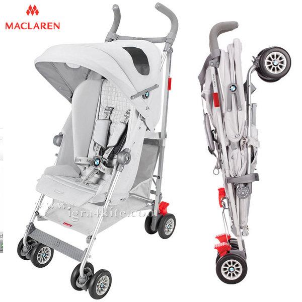 Maclaren - Лятна количка BMW Silver DSE04052